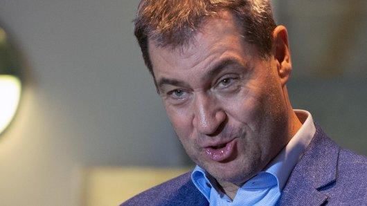 Markus Söder feiert den Kompromiss zur Grundrente.