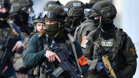 Das SEK hat in Berlin einen Terrorverdächtigen verhaftet.