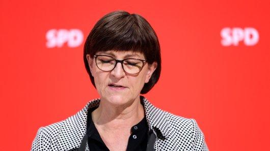 SPD mit Umfrage-Hammer: Saskia Esken und Norbert Walter-Borjans  sind die Bundesvorsitzenden der SPD.