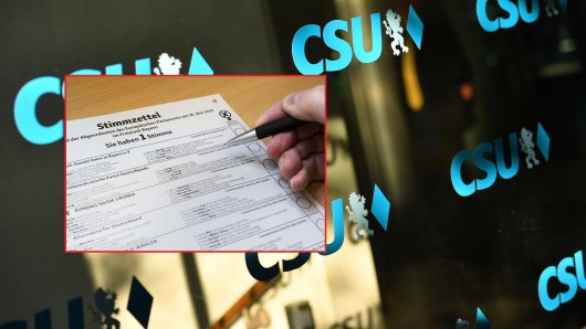 Ein Politiker mit prominenten Namen steht auf der Liste der CSU München-Land. (Symbolbild)