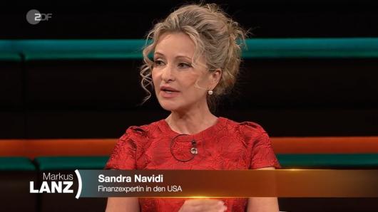 Markus Lanz im ZDF: Juristin Sandra Navidi ist von den Bildern aus den USA erschüttert.