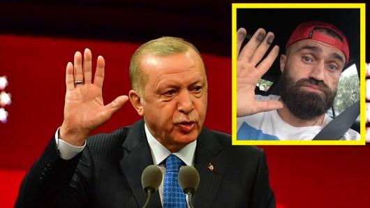 Die Anhänger von Recep Tayyip Erdogan bedrohen Box-Europameister Ünsal Arik.