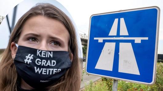 Luisa Neubauer, das prominenteste Gesicht von Fridays for Future in Deutschland. Die Klimaaktivisten haben große Pläne für die Autobahnen.