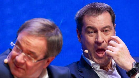 Macht Markus Söder das Rennen um die Kanzlerkandidatur von CDU/CSU?