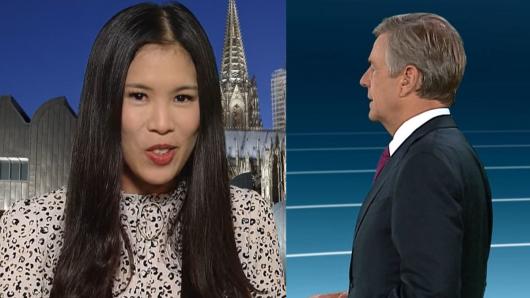 Claus Kleber im Gespräch mit Mai Thi Nguyen-Kim.