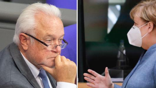 Wolfgang Kubicki geht mit Kanzlerin Angela Merkel scharf ins Gericht.
