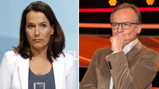 Anne Will und Frank Plasberg: Die zwei Talkshow-Moderatoren sind derzeit im Herbst-Urlaub.