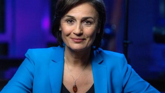 Moderatorin Sandra Maischberger.