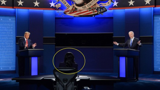 TV-Debatte zwischen Trump und Biden.
