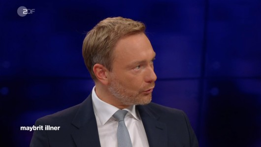 """FDP-Chef Christian Lindner hat sich bei """"Maybrit Illner"""" mächtig in Rage geredet."""