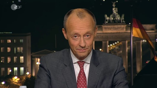 Friedrich Merz im Heute Journal (ZDF).