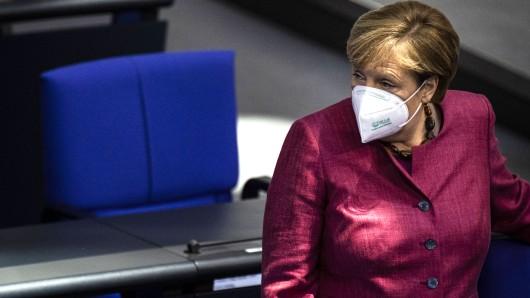 Angela Merkel wurde bei ihrer Corona-Regierungserklärung heftig aus den Reihen der AfD attackiert.