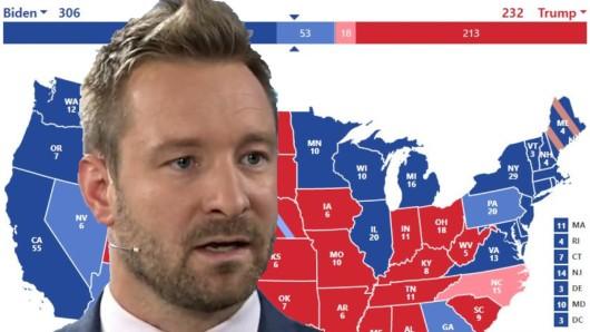 Experte Alexander Thiele kennt ein Schlupfloch für Donald Trump in der US-Verfassung.