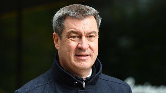 Markus Söder: Der Ministerpräsident muss für einen Post herbe Kritik einstecken.