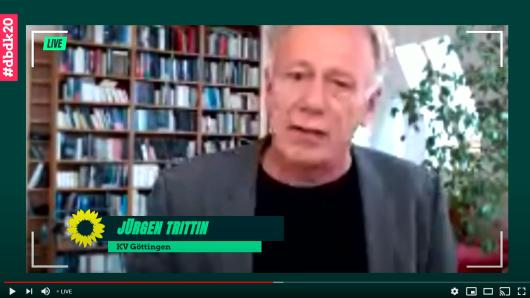 Jürgen Trittin wurde live zugeschaltet, dann rastete er aus.