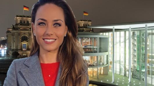 Franca Lehfeldt berichtet für RTL und n-tv aus dem Regierungsviertel in Berlin.