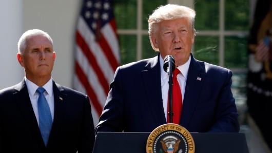 Wird Mike Pence bis zum letzte Tag hinter Donald Trump stehen?