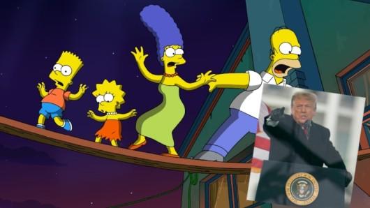 Hatten die Simpsons wieder eine Prophezeiung in der TV-Serie, die nun eintraf?