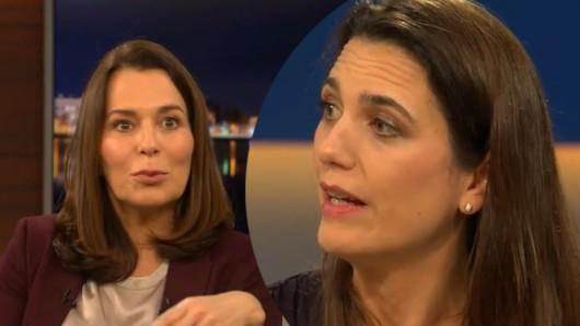 Virologin Melanie Brinkmann bei Anne Will.