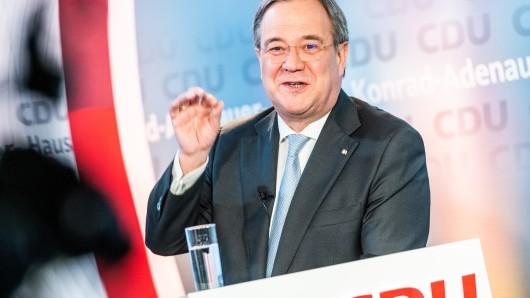 Armin Laschet ist der Wahlsieger auf dem CDU-Parteitag.