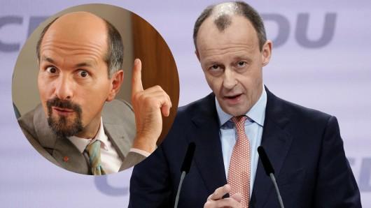 Friedrich Merz redete sich um Kopf und Kragen, als es in seiner Rede auf dem CDU-Parteitag um Frauen ging. Ein bisschen wie die TV-Figur Bernd Stromberg.