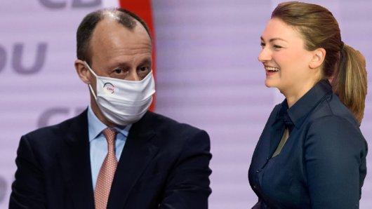 CSU-Ministerin Judith Gerlach machte sich über Wahlverlierer Friedrich Merz lustig.