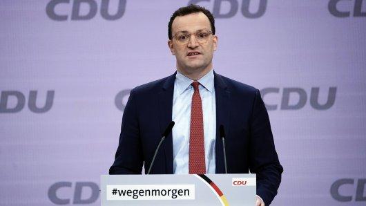 Jens Spahn auf dem CDU-Parteitag.