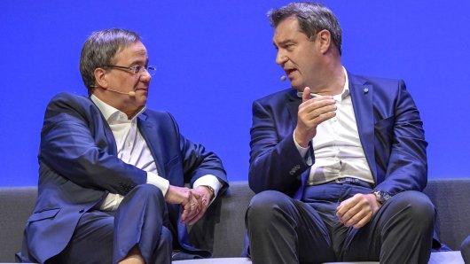 Armin Laschet und Markus Söder werden sich einigen müssen, wer Kanzlerkandidat wird.