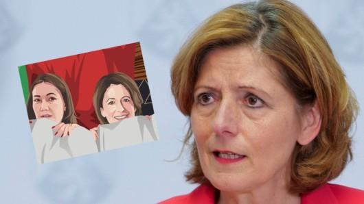 Malu Dreyer: Ein frivoles Wortspiel mit der Ministerpräsidentin sorgt für Ärger in Rheinland-Pfalz.