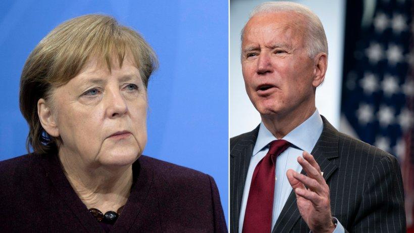 Joe Biden postet neues Büro-Foto – für Angela Merkel ist der Anblick ein Albtraum