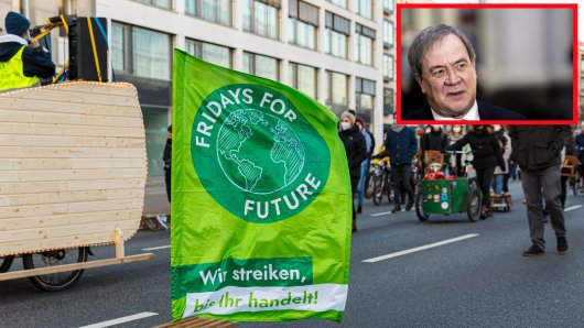 Fridays for Future: Kritik an Armin Laschet. (Symbolbild)