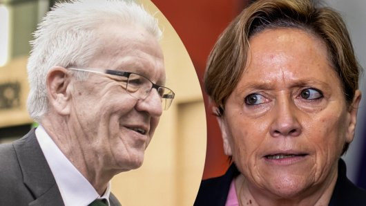 Winfried Kretschmann steht vor einem großen Sieg bei der Landtagswahl in Baden-Württemberg. Susanne Eisenmann (CDU) droht ein Debakel.