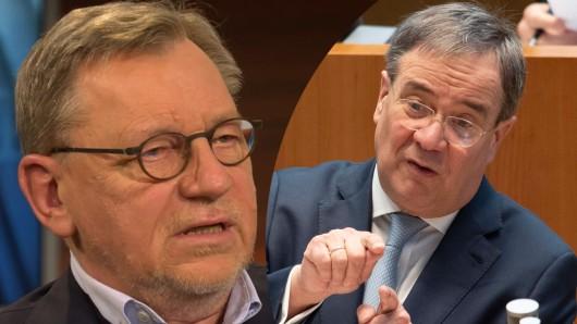 Hausärzte-Bundesvorsitzender Ulrich Weigeldt regt sich über eine Aussage von NRW-Ministerpräsident Armin Laschet auf.