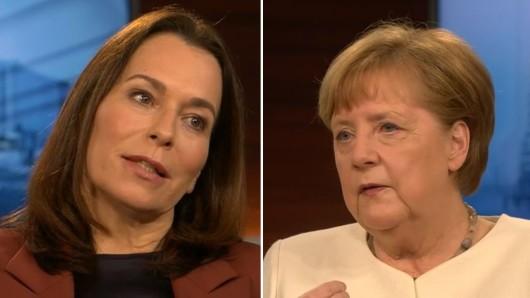 Bundeskanzlerin Angela Merkel bei Anne Will (ARD).