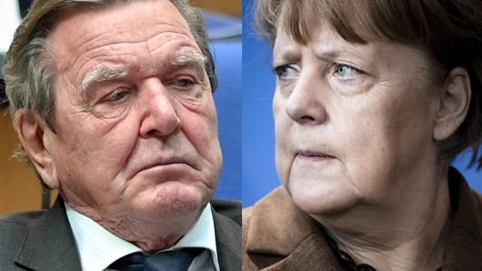 Gerhard Schröder urteilt hart über Corona-Krisenpolitik der Bundesregierung und der EU.