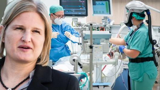 Die bayerische AfD-Fraktionschefin Kathrin Ebner-Steiner schrieb eine Anfrage an einen Klinikmanager.