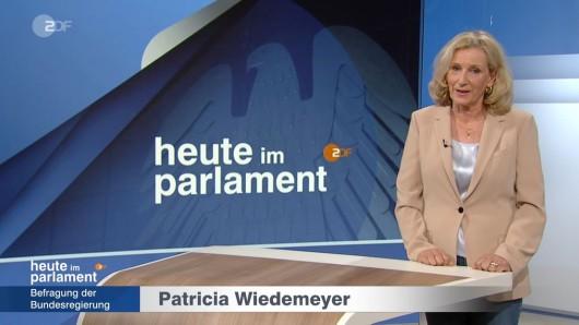 ZDF-Redakteurin Patricia Wiedermeyer.