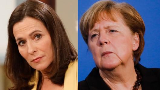 Erinnert Angela Merkel an ihre Aussage in der ARD-Talkshow: Anne Will.