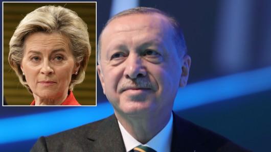 Erdogan und von der Leyen: Eklat bei einem Staatsbesuch in der Türkei.