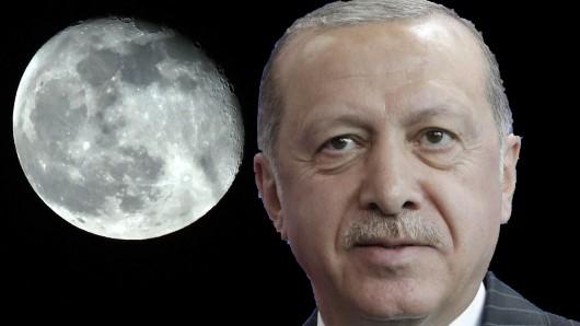 Türken-Präsident Erdogan will hoch hinaus!