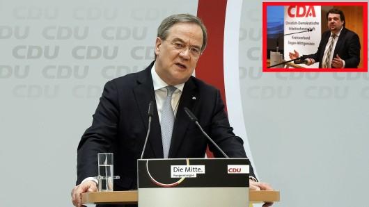 Armin Laschet: Einer seiner Anhänger drohte nun Markus Söder. (Symbolbild)