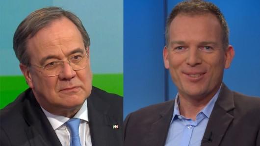 ARD-Moderator Oliver Köhr düpierte Armin Laschet mit einem frechen Seitenhieb.