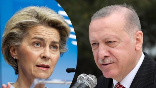 Ursula von der Leyen mit einem emotionalen Geständnis nach dem Besuch bei Türkei-Präsident Erdogan.