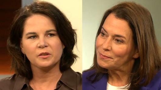 Grünen-Kanzlerkandidatin Annalena Baerbock zu Gast bei Anne Will.