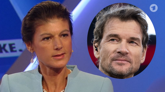 Sahra Wagenknecht ergreift Partei für Jens Lehmann.