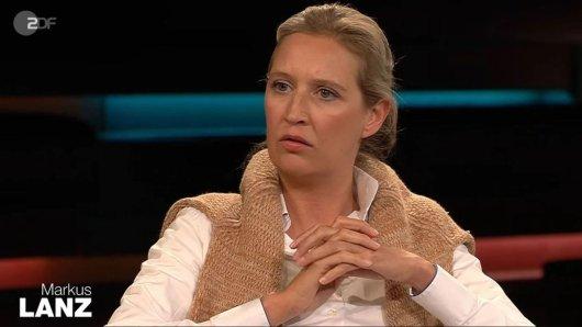 Alice Weidel zu Gast bei Markus Lanz.