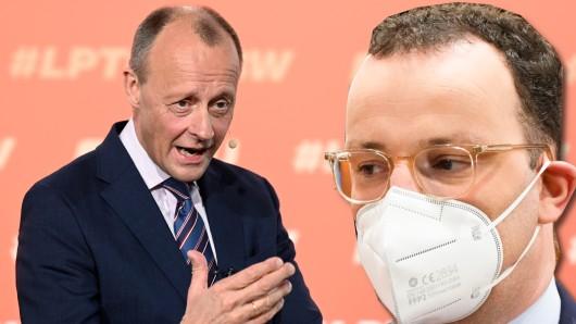 CDU-Mann Merz geht CDU-Minister Spahn hart an.