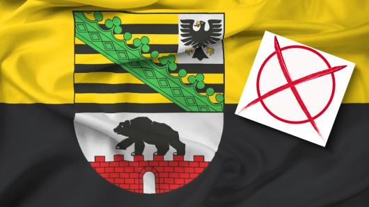 Landtagswahl in Sachsen-Anhalt: Die CDU hat klar gewonnen.