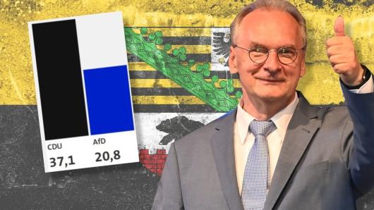 CDU-Ministerpräsident feierte einen überraschenden Triumph bei der Landtagswahl in Sachsen-Anhalt. In Umfragen vor der Wahl war das so nicht abzusehen! Besonders beim Institut INSA sah die Lage ganz anders aus.