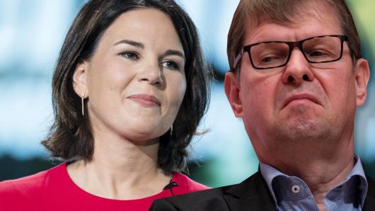 Bald Koalitionspartner? Annalena Baerbock, Kanzlerkandidatin der Grünen, und der SPD-Spitzengenosse Ralf Stegner.